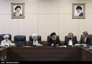غیبت روحانی، لاریجانی و ۱۱ عضو در جلسه امروز مجمع +عکس