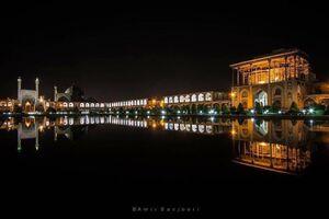 عکس/ نمایی زیبا از میدان امام اصفهان