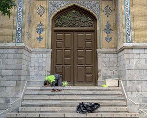 عکس/ نماز اول وقت یک پاکبان