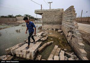 """عکس/ وضعیت روستای سیلزده """"کوت امیر"""""""