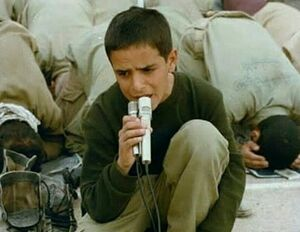 مداح نوجوان جبههها +عکس