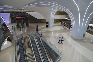 عکس/ افتتاح اولین خط مترو در قطر