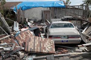 عکس/ خسارت طوفان مهیب در فلوریدا