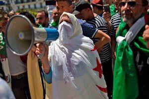 عکس/ تظاهرات مردم الجزائر برای دوازدهمین جمعه متوالی