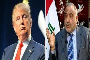 باجخواهی آمریکاییها از عراق / دست رد بغداد به سینه ترامپ