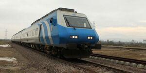 آتش سوزی در قطار مسافربری تهران به اهواز