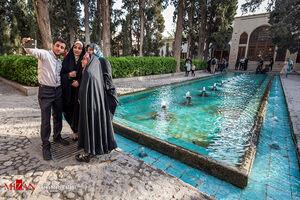 یکی از زیباترین باغهای ایرانی در کاشان