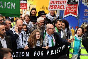 فریاد رهایی فلسطین در خیابان های پایتخت انگلیس