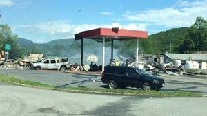 7 کشته و زخمی براثر انفجار در پمپ بنزین ایالت ویرجینیا آمریکا