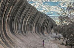 صخره ای زیبا در استرالیا
