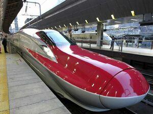 عکس/ رونمایی از سریع ترین قطار دنیا