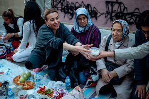 عکس/ خیابانهای ترکیه در ایام ماه رمضان