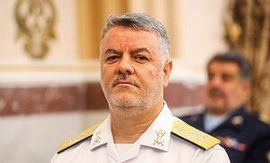 واکنش فرمانده نیروی دریایی ارتش به حضور ناوگروه آمریکایی