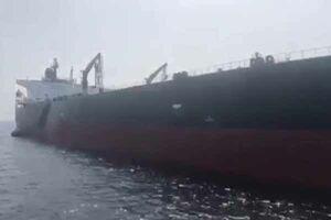 فیلم منتسب به کشتی نروژی آسیبدیده در فجیره