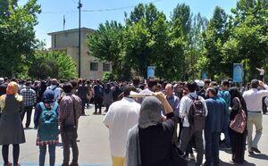 تکثیر مجید توکلی در دانشگاه تهران +فیلم