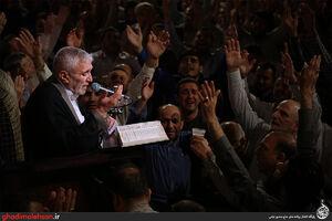 عکس/ شب هشتم ماه رمضان98 در مسجد ارک تهران