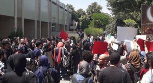 چه کسی اجازه تجمع قانونشکنان در دانشگاه تهران را داد؟ +تصاویر