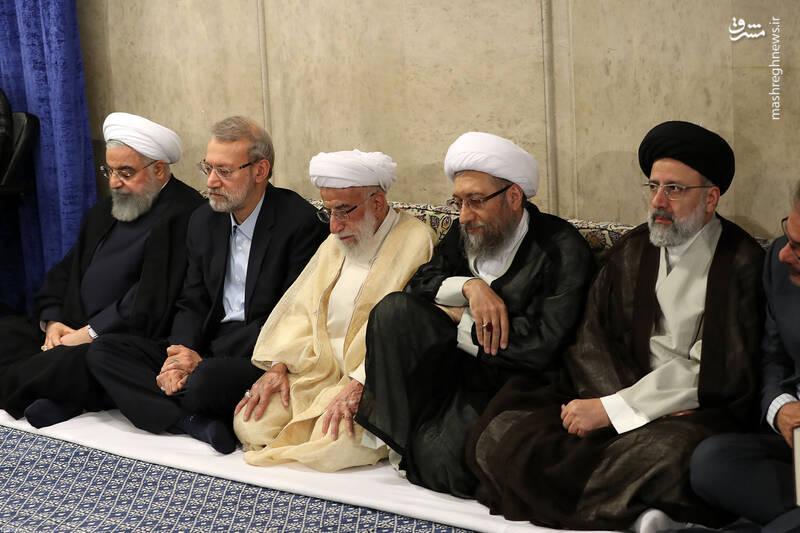 عکس/ دیدار مسوولان و کارگزاران نظام با رهبر انقلاب