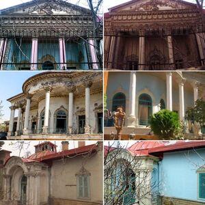 رنگآمیزی ستونهای یک بنای تاریخی! +عکس