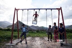 عکس/ رویای خیس کودکان پلدختر