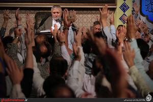 عکس/ شب نهم ماه رمضان98 در مسجد ارک تهران