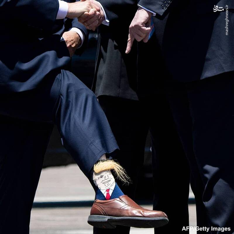 رئیس جمهور آمریکا جوراب عجیب جوراب رئیس جمهور بیوگرافی دونالد ترامپ اینستاگرام دونالد ترامپ اخبار آمریکا
