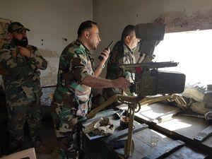 سقوط یکی از مهمترین پایگاههای تروریستها در شمال غرب استان حماه/ پاکسازی دشت الغاب هدف اصلی نیروهای ارتش سوریه در محور شمال + نقشه میدانی و عکس