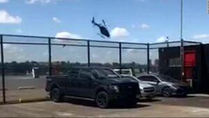 عکس/ سقوط یک هلیکوپتر در نیویورک