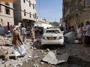 حمله جنگندههای سعودی به محلهای مسکونی یمن