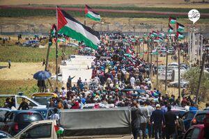 عکس/ تظاهرات روز نکبت در فلسطین اشغالی