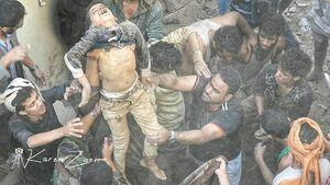 عکس/ جنایت جدید سعودیها در یمن