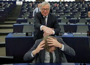 شوخی رئیس کمیسیون اتحادیه اروپا