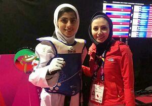 پایان کار بانوی پدیده 17 ساله ایران با مدال نقره