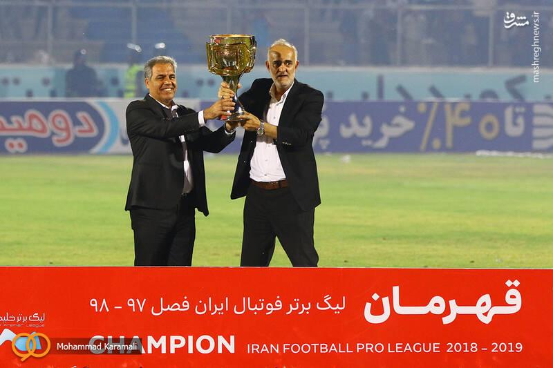 جشن قهرمانی پرسپولیس در هجدهمین دوره لیگ برتر