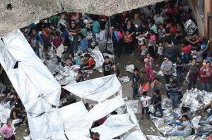 عکس/ وخامت اوضاع مهاجران در مناطق مرزی آمریکا