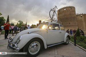 عکس/ گردهمایی فولکسهای قورباغهای در شیراز