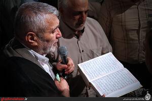 فیلم/ شب دوازدهم ماه رمضان98 با نوای حاج منصور ارضی