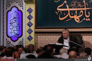 عکس/ شب دوازدهم ماه رمضان98 در مسجد ارک تهران