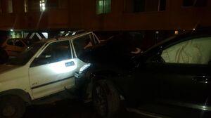 ماجرای تصادف مرگبار پورشه و پراید +عکس