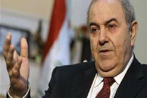 علاوی: مسأله کنونی عراق برکناری نخست وزیر نیست