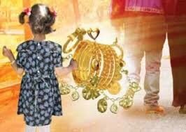 سرقت زیورآلات کودکان توسط زن جوان