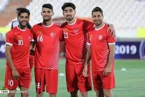 عکس/ نمایی از رختکن پرسپولیس پیش از بازی با السد