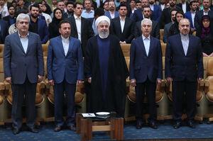 فیلم/ اعتراض دانشجویان به روحانی با ترک جلسه!