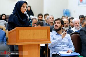 عکس/ دومین جلسه دادگاه داماد آقای وزیر