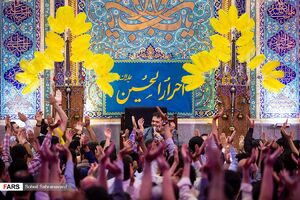 عکس/ جشن ولادت امام حسن مجتبی(ع)