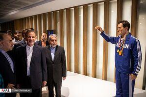 آئین افتتاح موزه ملی ورزش، المپیک