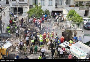 انفجار مهیب یک واحد مغازه