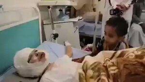 ویدئوی تکاندهنده از دو برادر در یمن