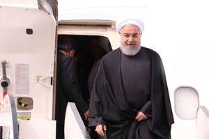 روحانی به آذربایجان غربی رفت