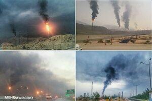 اَبَر آلودگی که نیازمند چارهاندیشی ملی است +عکس